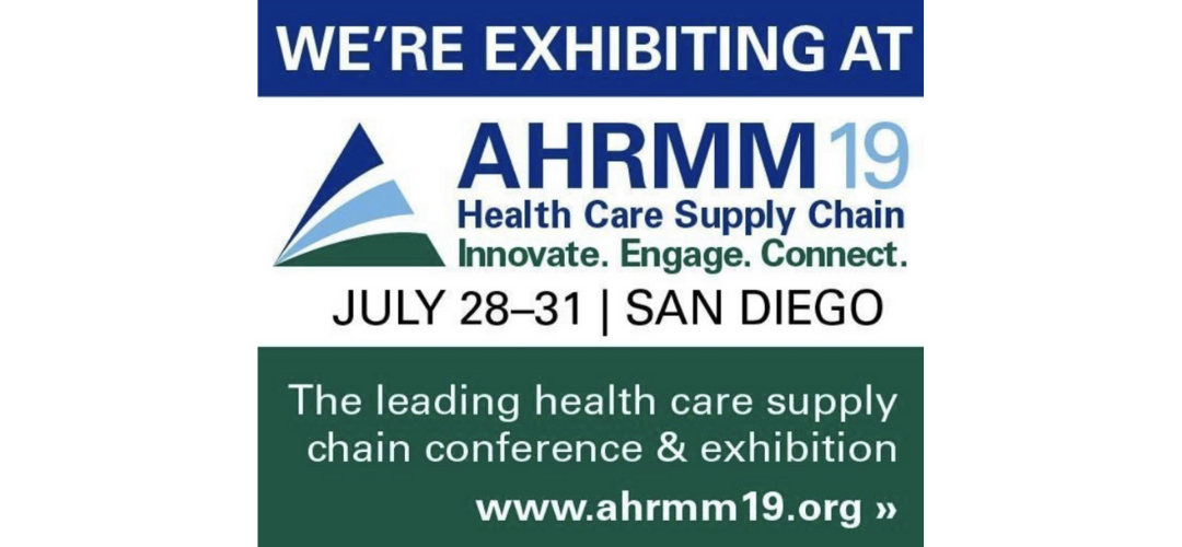 AHRMM 2019: See us at the upcoming conference